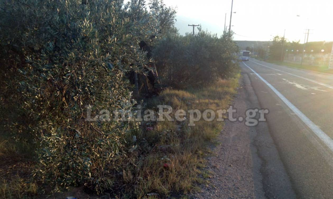Τραγωδία στη Λαμία: Νεκρός 48χρονος σε τροχαίο με μηχανή (pics)