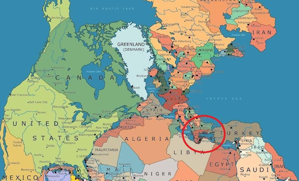 Πανγαία: Δείτε που θα βρισκόταν η Ελλάδα στον χάρτη αν η γη δεν είχε διαχωριστεί σε ηπείρους
