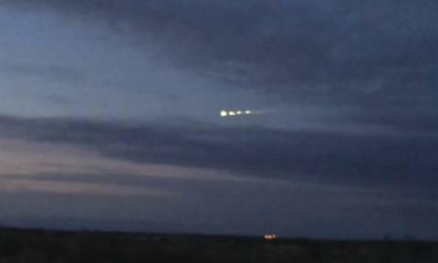 Υπάρχουν εξωγήινοι; Πριν απαντήσετε δείτε αυτό το βίντεο που τραβήχτηκε στις 4 Αυγούστου