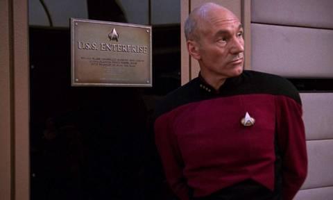 Star Trek: O Sir Patrick Stewart επιστρέφει ως καπετάνιος του Enterprise και το ίντερνετ παραληρεί