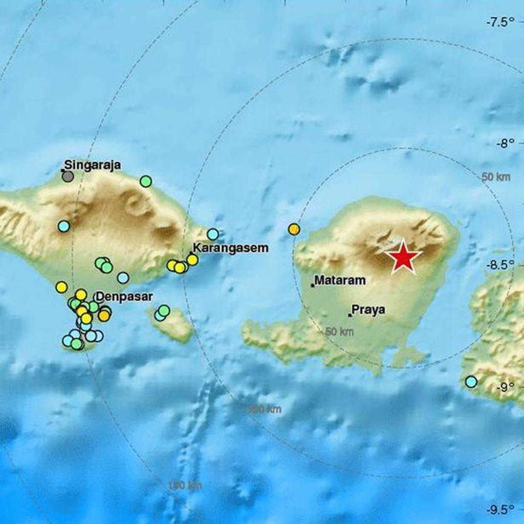Ισχυρός σεισμός 6,6 Ρίχτερ χτύπησε ΤΩΡΑ την Ινδονησία