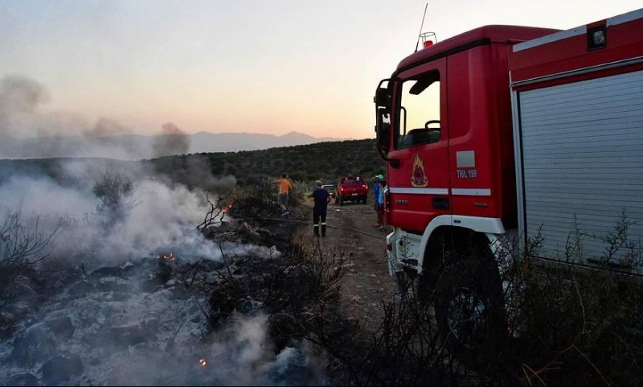 Προσοχή! Πολύ υψηλός κίνδυνος πυρκαγιάς σήμερα σε Αττική και Εύβοια (χάρτης)