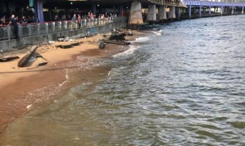 Ασύλληπτη τραγωδία: Τουρίστες βρήκαν νεκρό βρέφος σε ποτάμι (pics+vid)