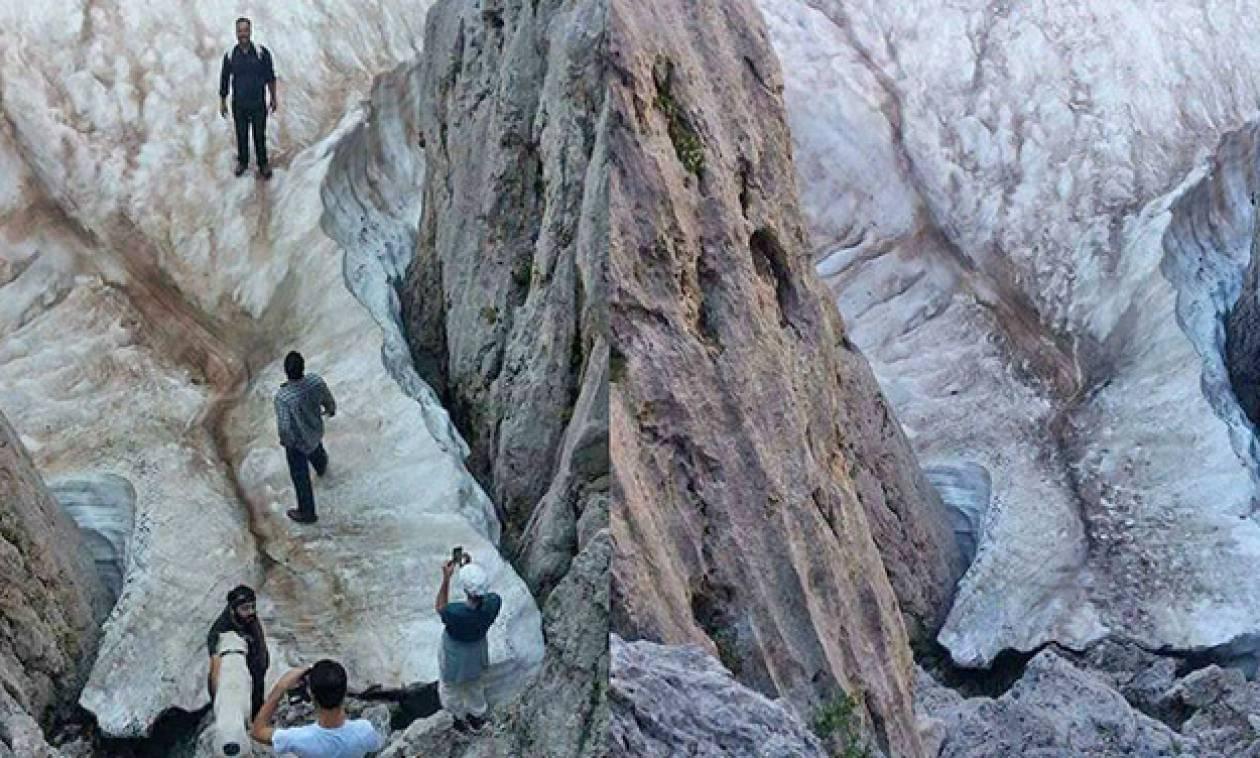 Το Σπηλαιοβάραθρο της Κρήτης όπου το χιόνι δεν λιώνει ποτέ!