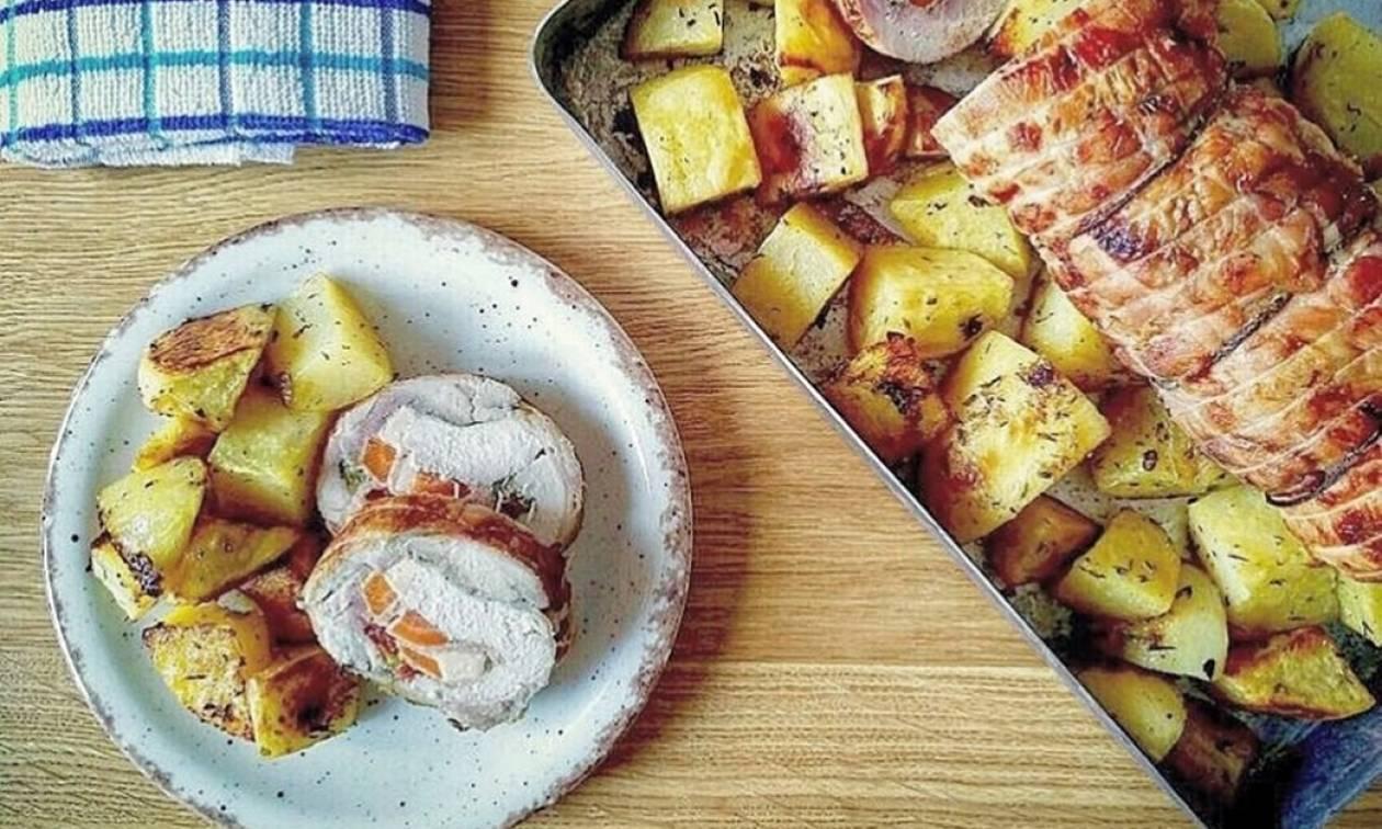 Η συνταγή της ημέρας: Ρολό κοτόπουλο