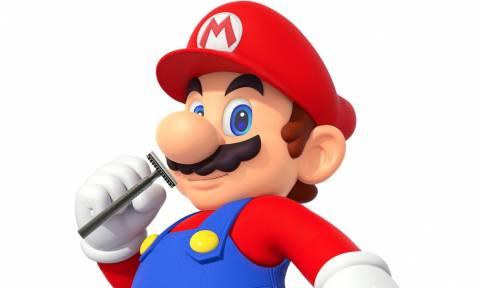 Απίστευτο! Αποφάσισαν να ξυρίσουν τον Super Mario! (pic)