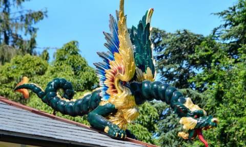 Οι δράκοι επέστρεψαν στους Κήπους Κιου, στο Λονδίνο ύστερα από 234 χρόνια!