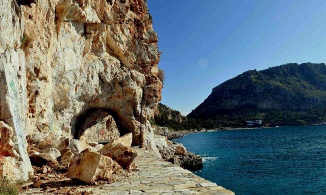 Τραγωδία στο Ηράκλειο: Έπεσε από τα βράχια και αβοήθητος έχασε τη ζωή του