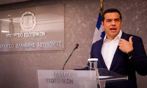Τσίπρας: Συστήνεται Εθνική Υπηρεσία Διαχείρισης Εκτάκτων Αναγκών