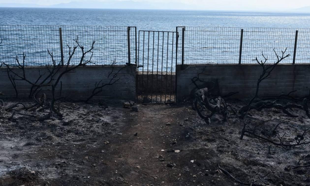 Φωτιά: Θυροκολλήθηκαν τα πρώτα πρωτόκολλα κατεδάφισης για τα αυθαίρετα στο Μάτι (vid)