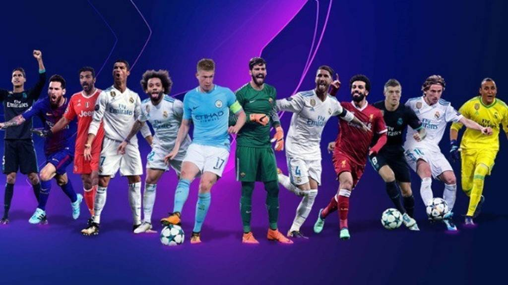 Αυτοί είναι οι υποψήφιοι κορυφαίοι ποδοσφαιριστές του Champions League