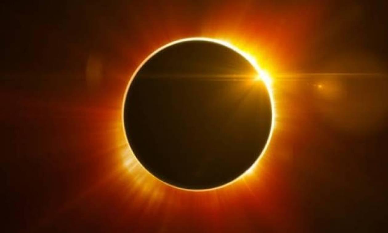 Εντυπωσιακό φαινόμενο στον ουρανό: Μερική έκλειψη ηλίου αύριο - Η τρίτη για φέτος