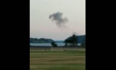 Συγκλονιστικό βίντεο από την αεροπειρατεία στο Σιάτλ: Η καταδίωξη των F-15 και η πτώση