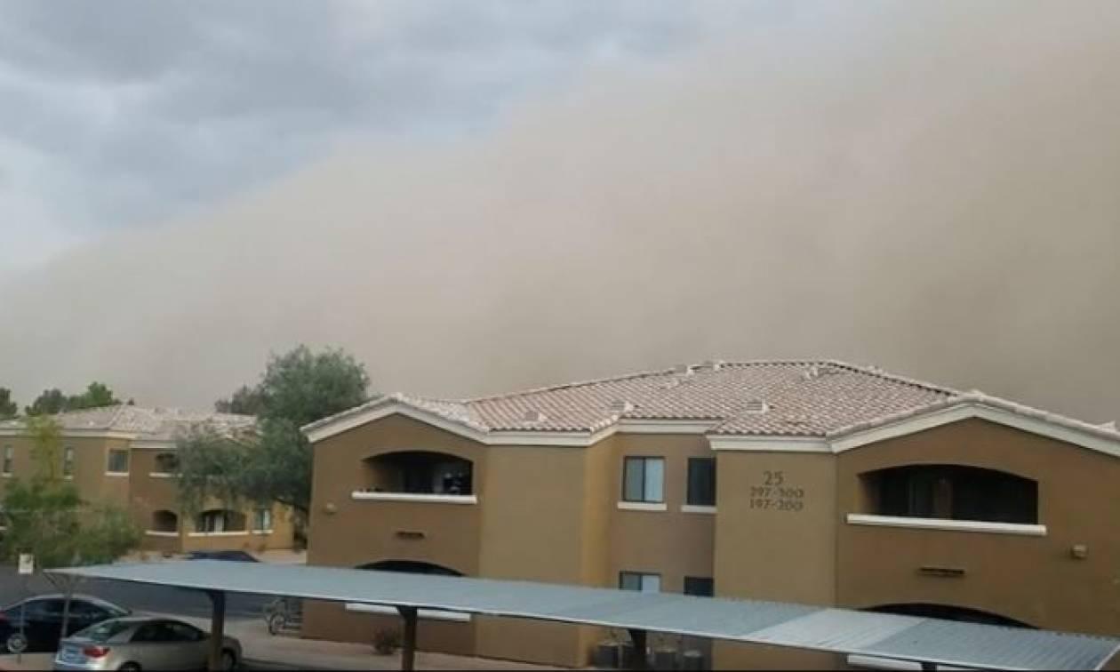 Εντυπωσιακό βίντεο από αμμοθύελλα που σαρώνει την Αριζόνα