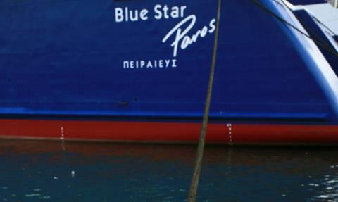 Πρόσκρουση του Blue Star Paros στο λιμάνι της Σύρου: Ταλαιπωρία για 1.356 επιβάτες