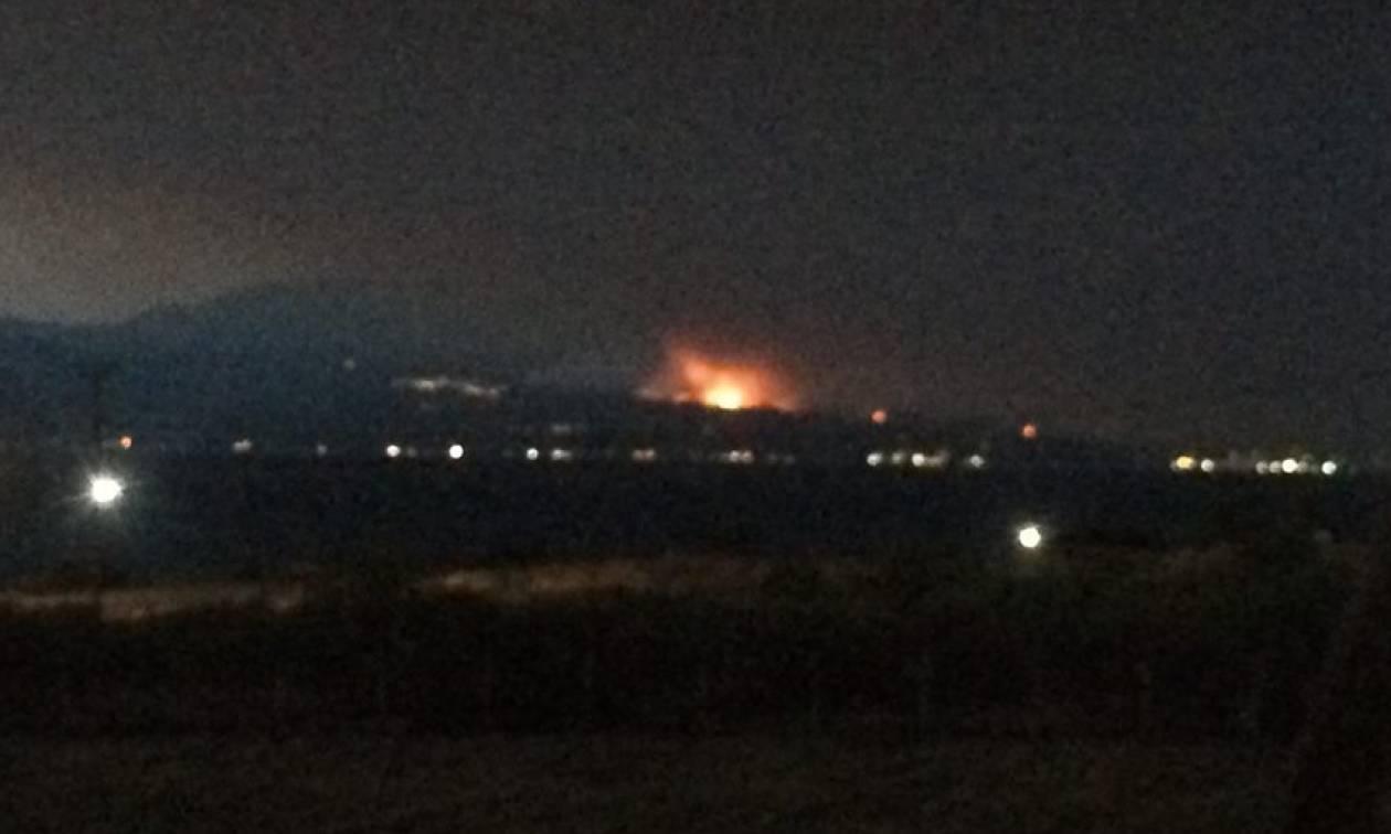 Φωτιά Εύβοια: Σε κατάσταση έκτακτης ανάγκης ο Δήμος Διρφύων - Μεσσαπίων