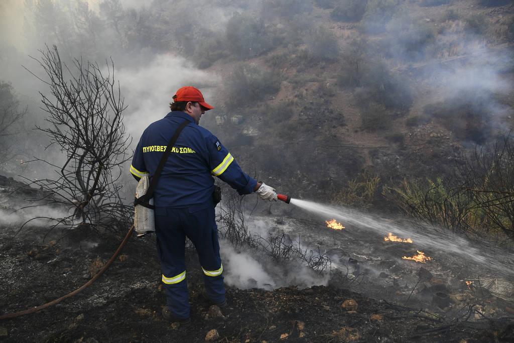 Φωτιά Εύβοια - Αποστόλου: Υπήρξε έγκαιρη επέμβαση του κρατικού μηχανισμού