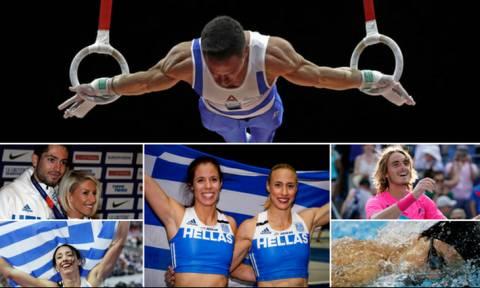 Το «μαγικό» καλοκαίρι του ελληνικού αθλητισμού (pics&vids)