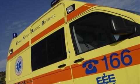 Παραλίγο τραγωδία στην Ελασσόνα: Τη γλίτωσε με ελαφρά τραύματα