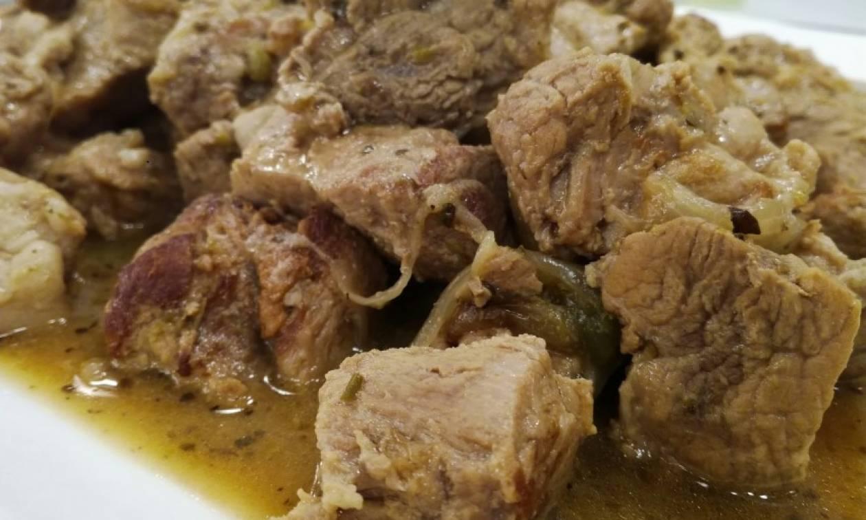 Η συνταγή της ημέρας: Λεμονάτη χοιρινή τηγανιά