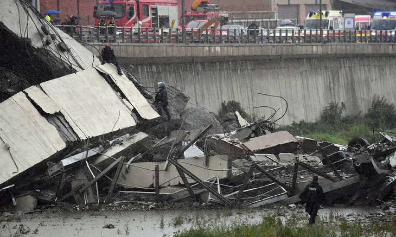 Γένοβα: Συλλυπητήρια του ελληνικού ΥΠΕΞ για την κατάρρευση της γέφυρας