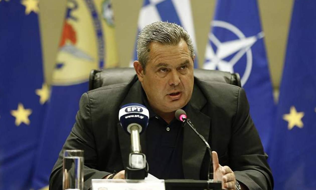 Έλληνες στρατιωτικοί: Τηλεφωνική επικοινωνία Καμμένου με τον Τούρκο ομόλογό του