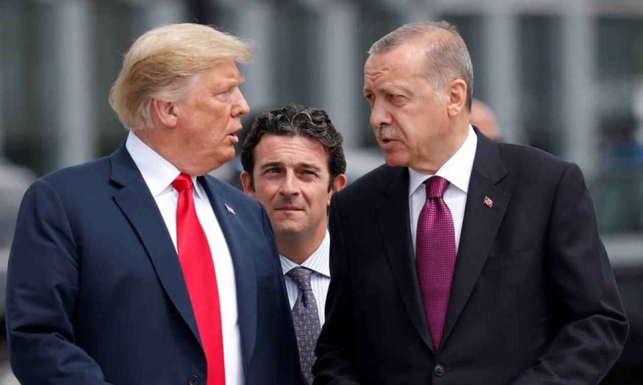 Στην κόψη του ξυραφιού οι σχέσεις Τουρκίας - HΠΑ