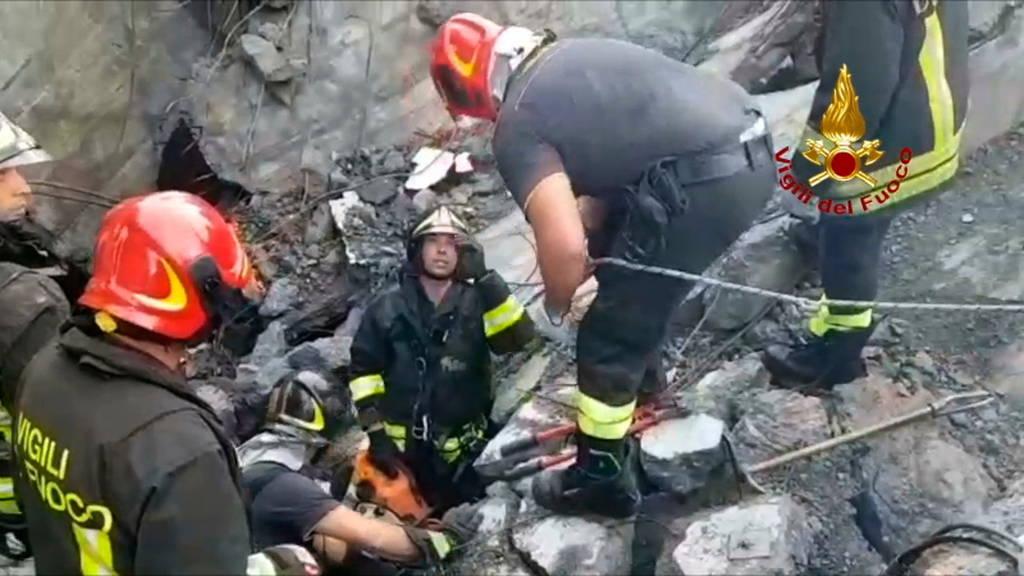 Τραγωδία στη Γένοβα: Στους 39 οι νεκροί - Ανάμεσά τους και τρία παιδιά