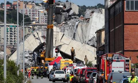 Σε κατάσταση έκτακτης ανάγκης η Γένοβα μετά την τραγωδία με τους 39 νεκρούς