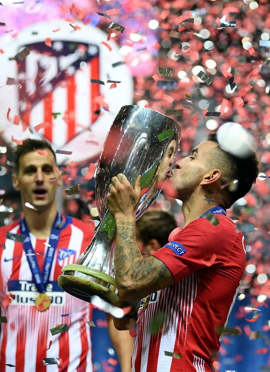 Super Cup Ευρώπης: «Βασίλισσα» ήταν η Ατλέτικο Μαδρίτης (pics)