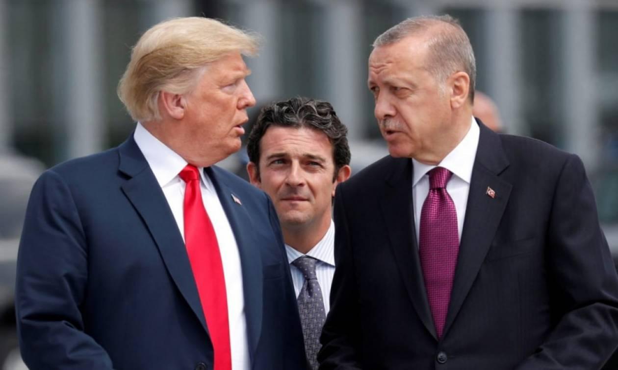 «Πόλεμος» ΗΠΑ - Τουρκίας: Ανυποχώρητος ο Τραμπ - Σε πανικό ο Ερντογάν