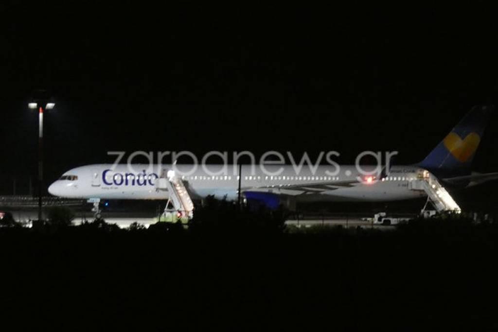 Συναγερμός στο αεροδρόμιο των Χανίων για βόμβα σε αεροσκάφος (pics)