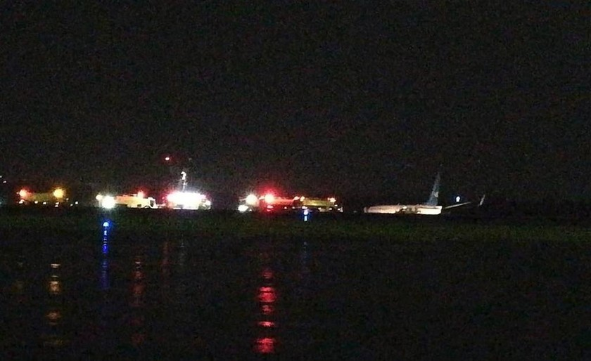 Συντριβή Boeing 737 κατά την προσγείωση στο αεροδρόμιο της Μανίλα (Pics)