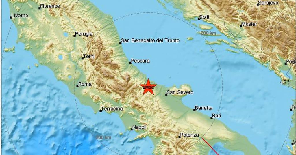 Νέος ισχυρός σεισμός χτύπησε ΤΩΡΑ την Ιταλία