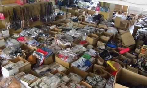 Καβάλα: Κατασχέθηκαν 6.000 είδη παρεμπορίου