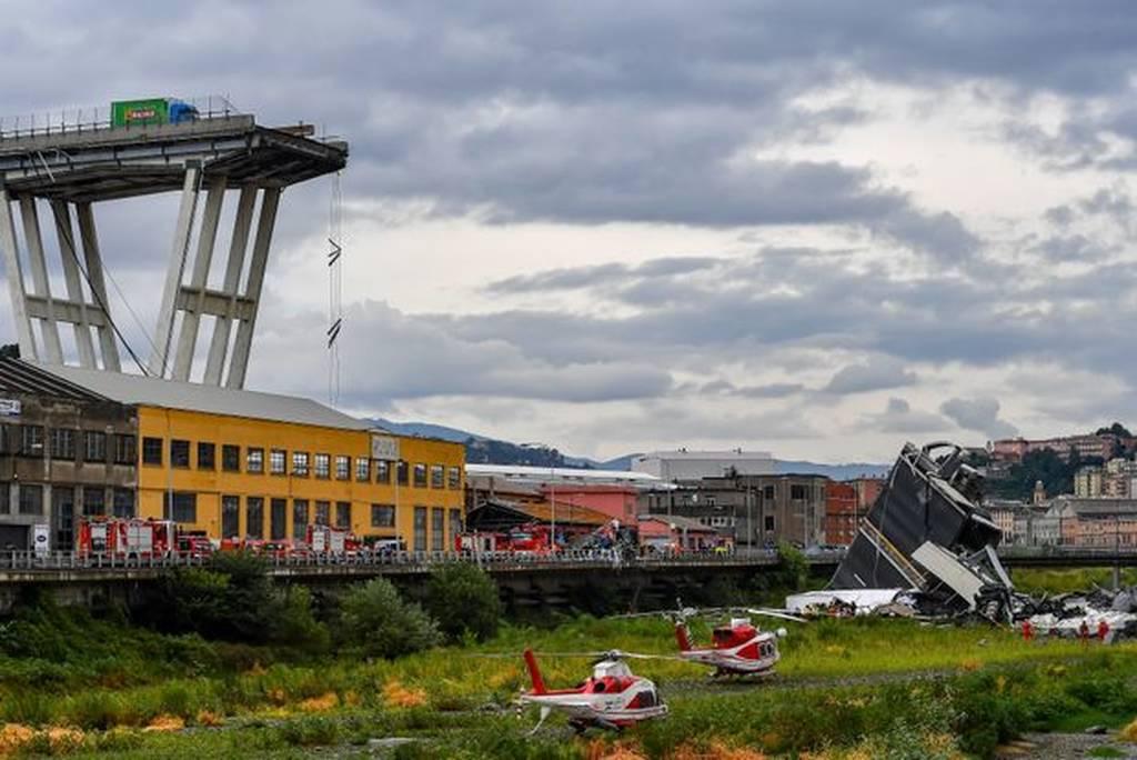 Τραγωδία στη Γένοβα: Οι διασώστες εξακολουθούν να αναζητούν 10 έως 20 αγνοουμένους