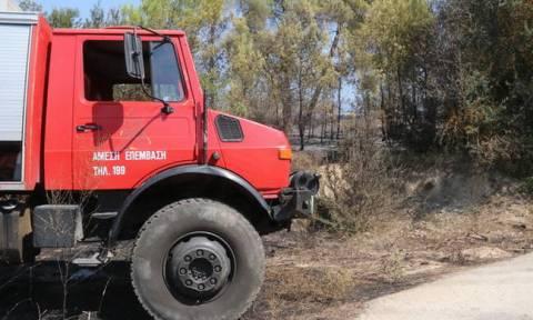 Ο χάρτης πρόβλεψης κινδύνου πυρκαγιάς για το Σάββατο 18/8 - Υψηλός κίνδυνος στη μισή Ελλάδα (pic)