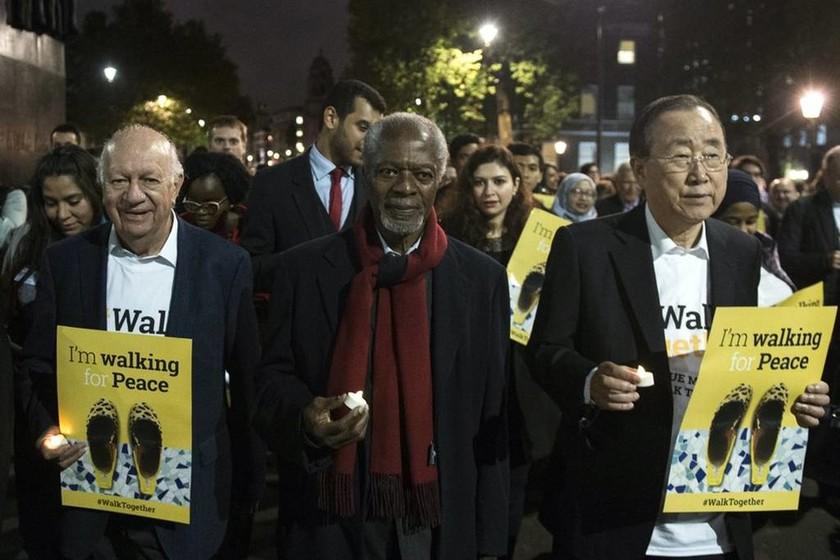 Πέθανε ο πρώην Γ.Γ. του ΟΗΕ Κόφι Ανάν