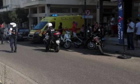 Αγρίνιο: Μεγάλη φωτιά σε βενζινάδικο – Στο νοσοκομείο δύο γυναίκες (pics)