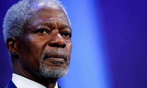 Κόφι Άναν: Παγκόσμιος φόρος τιμής και επταήμερο εθνικό πένθος στην Γκάνα