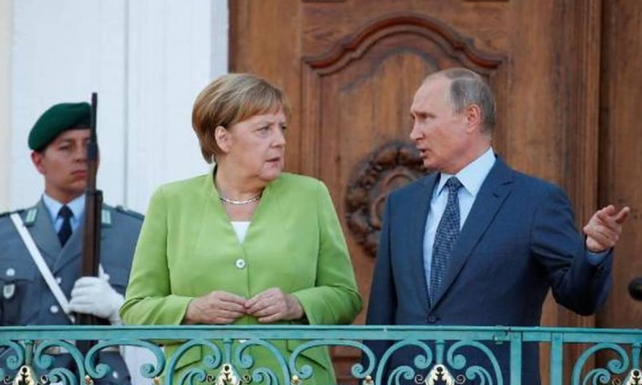 Μέρκελ: Απαραίτητη η συνεργασία με τη Ρωσία