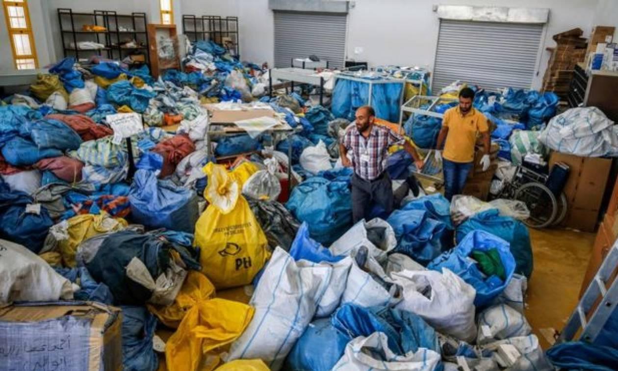 Αδιανόητο: Το Ισραήλ μπλόκαρε 10,5 τόνους αλληλογραφίας προς τη Γάζα επί οχτώ χρόνια (Pics+Vids)