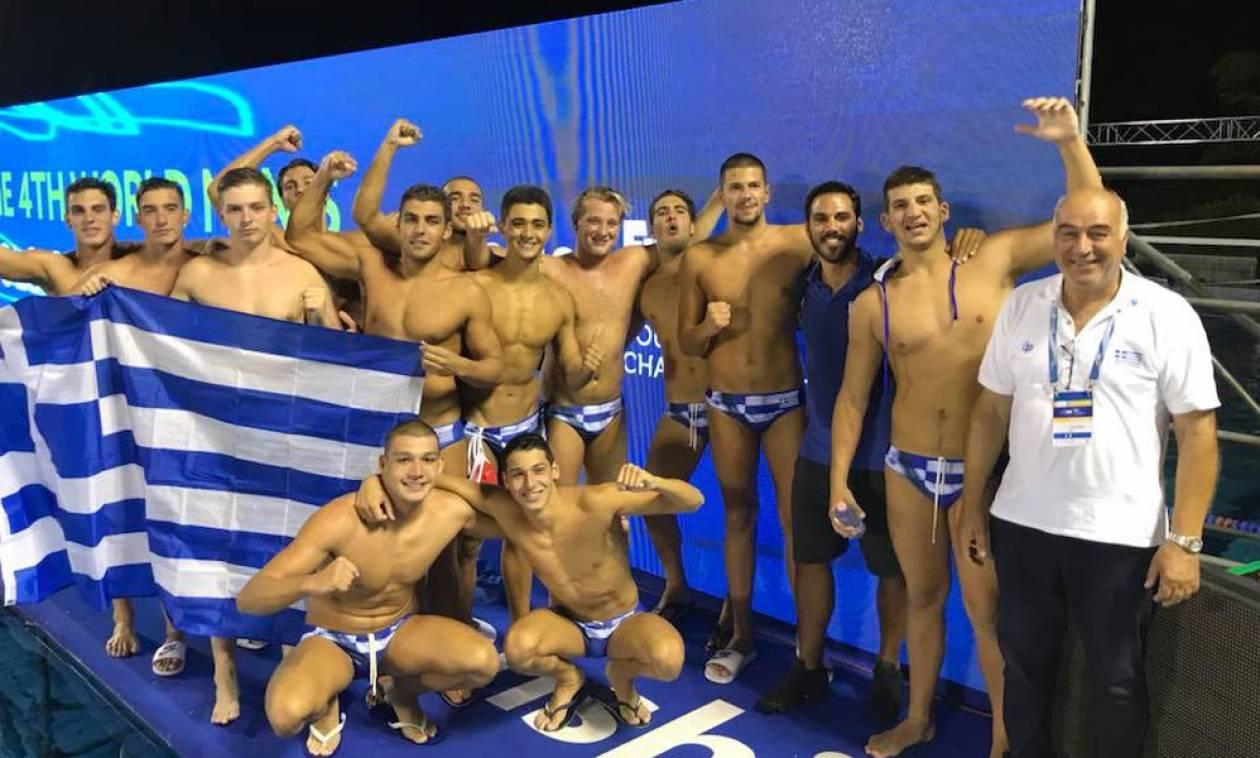 Παγκόσμιο Εφήβων Πόλο  Στην κορυφή του κόσμου η Ελλάδα ... 4ad89d284bd