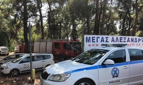 Μετανάστες έβαλαν φωτιά σε κέντρο φιλοξενίας στη Θεσσαλονίκη