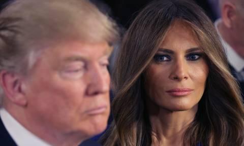 Η Μελάνια Τραμπ καταγγέλλει τη διαδικτυακή παρενόχληση