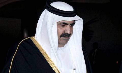 Ο πρώην Eμίρης του Κατάρ στην ψαραγορά της Κέρκυρας