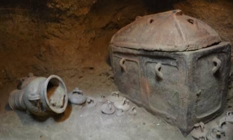 Κρήτη: Στο φως ασύλητος τάφος στην Ιεράπετρα