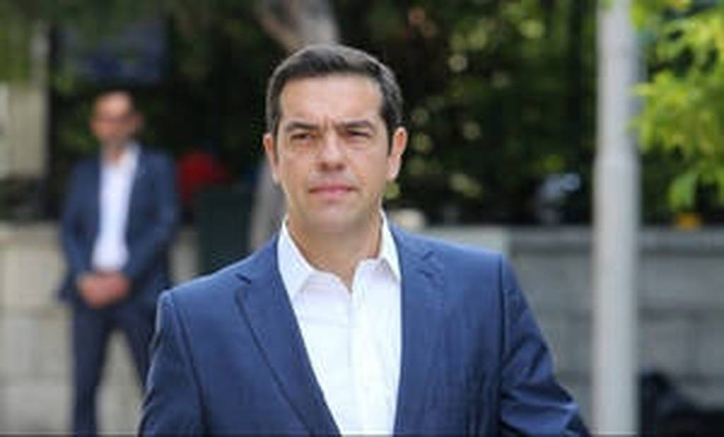 Στη Σύρο ο πρωθυπουργός Αλέξης Τσίπρας