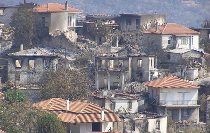 Φωτιές Ηλεία: Με 20 κατοίκους έμεινε η μαρτυρική Μάκιστος ...