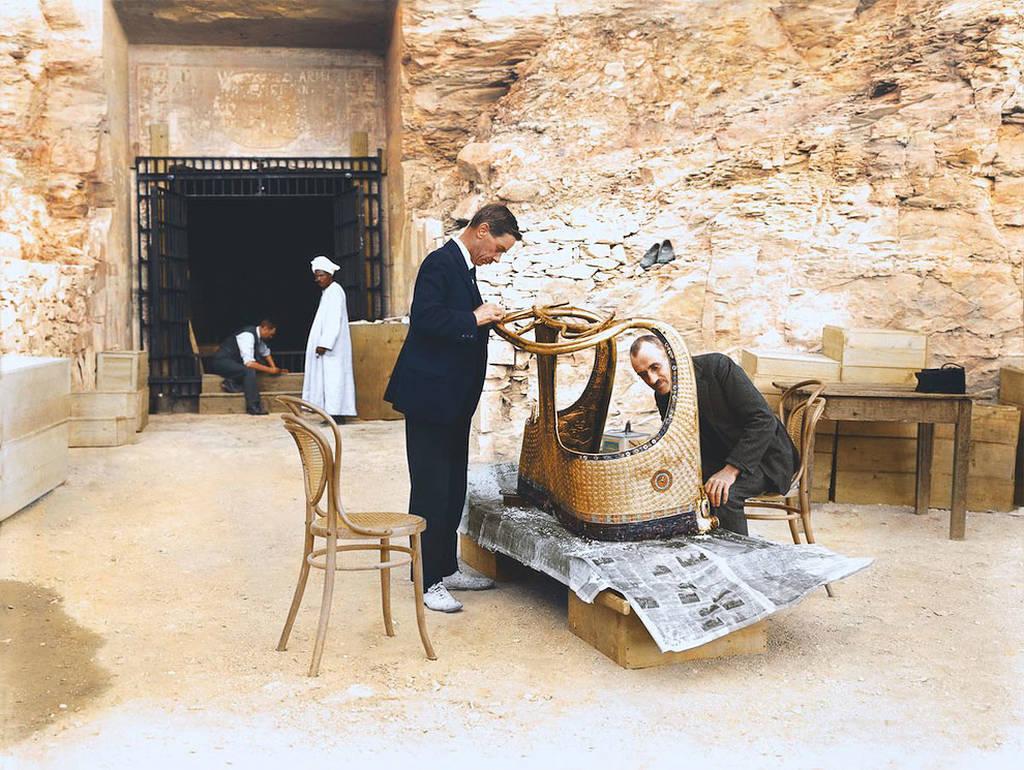 Η κατάρα της μούμιας: Μια... απόκοσμη ιστορία (Pics)